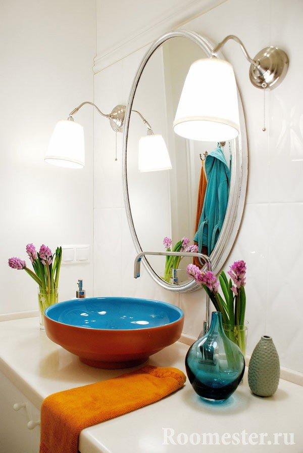 Аромат гиацинтов наполнит ванную приятным запахом