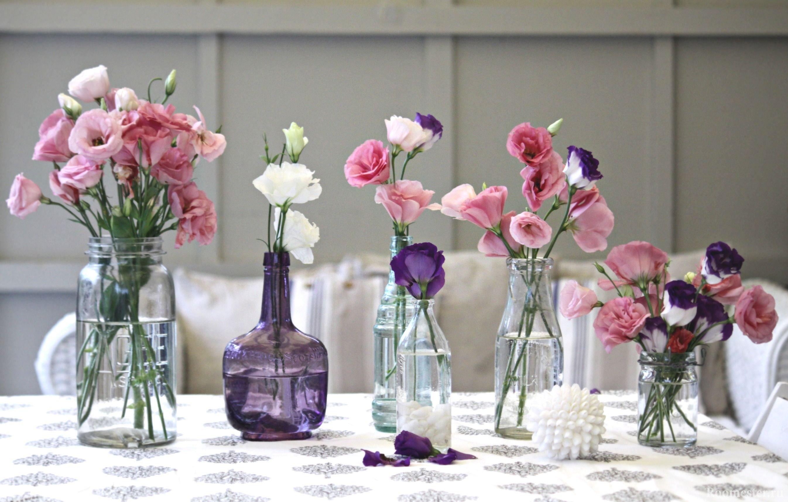 Идеальное украшение интерьера весной цветами