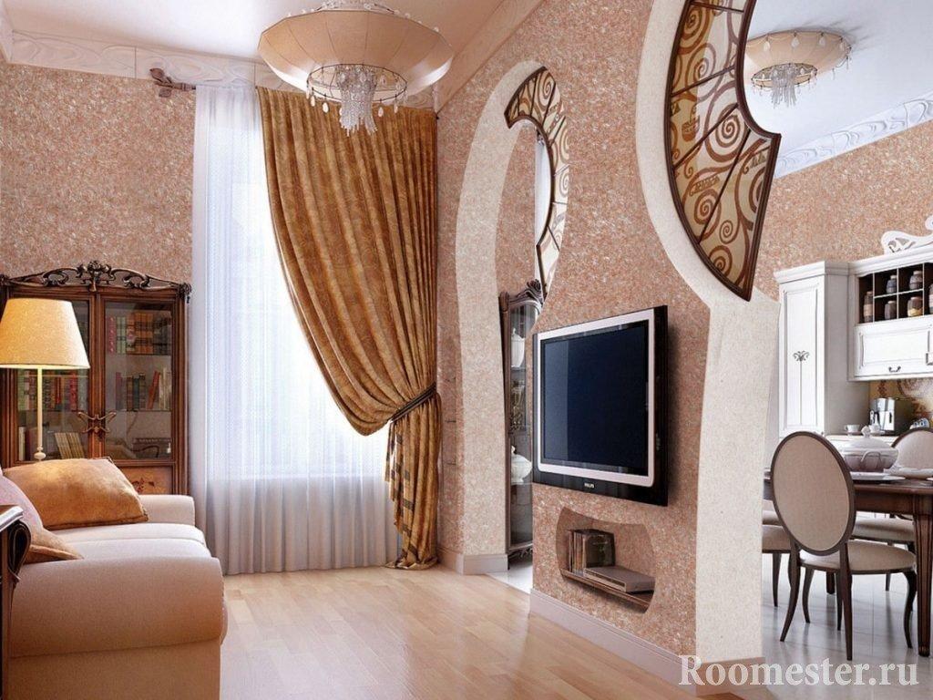 Шикарный интерьер комнаты