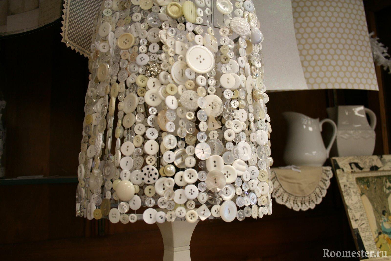 Как изготовить оригинальный абажур в домашних условиях