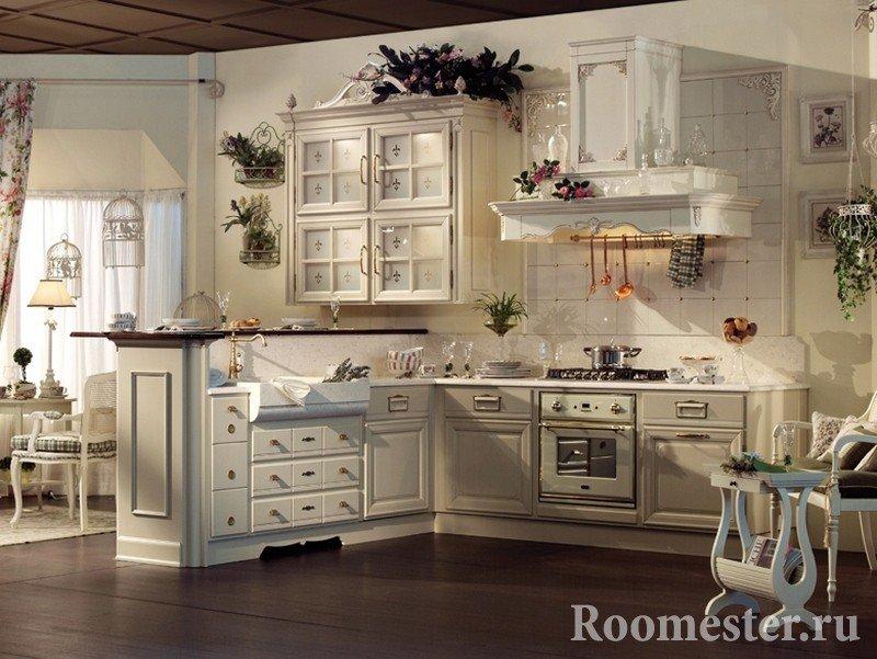 Шикарная кухонная мебель
