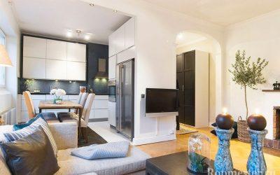 Дизайн квартиры 60 кв. м — перепланировка и оформление интерьера