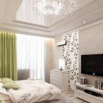 Белая мебель в спальне