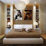 Необычные картины над кроватью