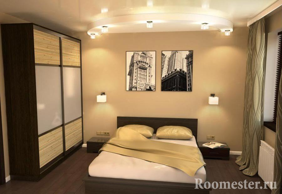 Картины над кроватью