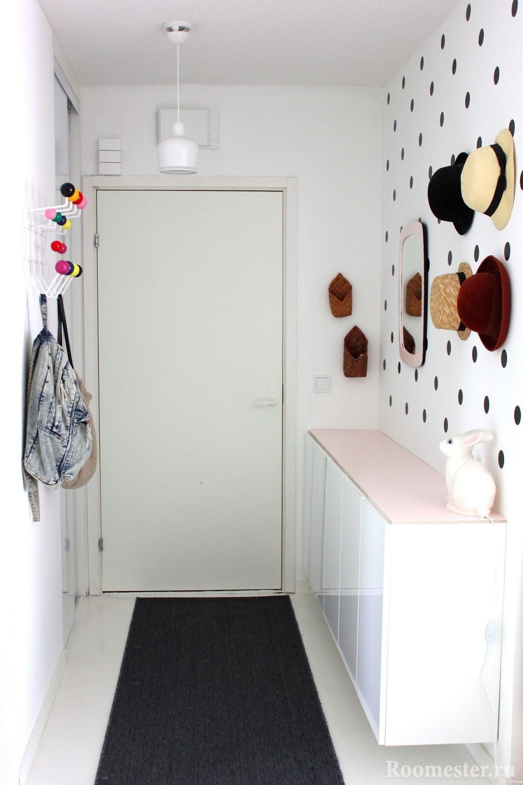 Простой дизайн коридора