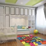 Шкаф и диван в детской
