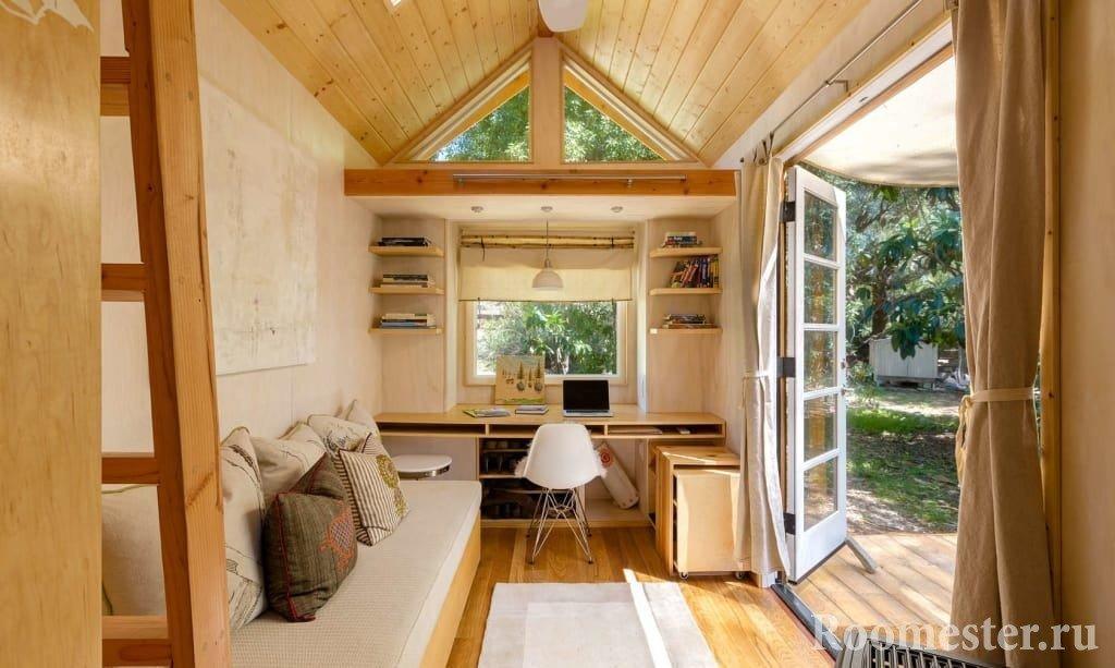 Маленький дом оформление