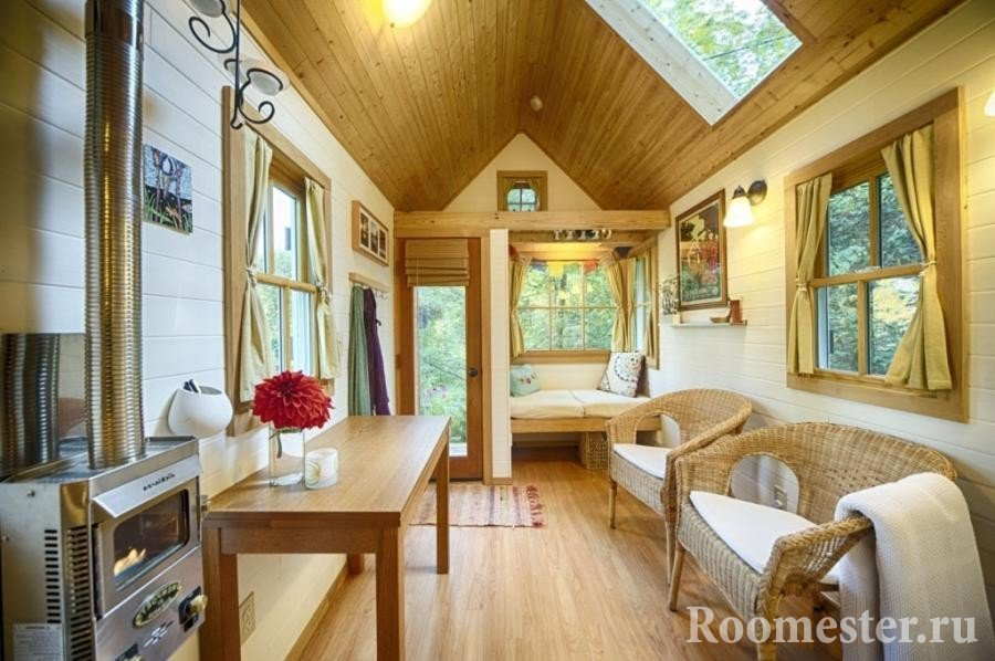 Идеи дизайна маленького дачного дома