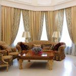 Шикарная мебель и камин в гостиной