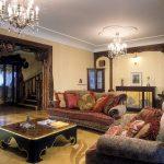 Комната с необычным диваном