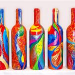 Яркие узоры на бутылках