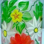 Цветы на банке