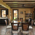 Кухня и столовая в одной комнате