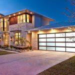 Дом с подсветкой