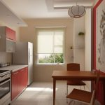 Изображение на стене кухни