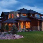 Дом интересной архитектуры