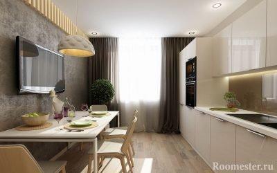 Дизайн кухни 13 кв. м — примеры интерьера на фото