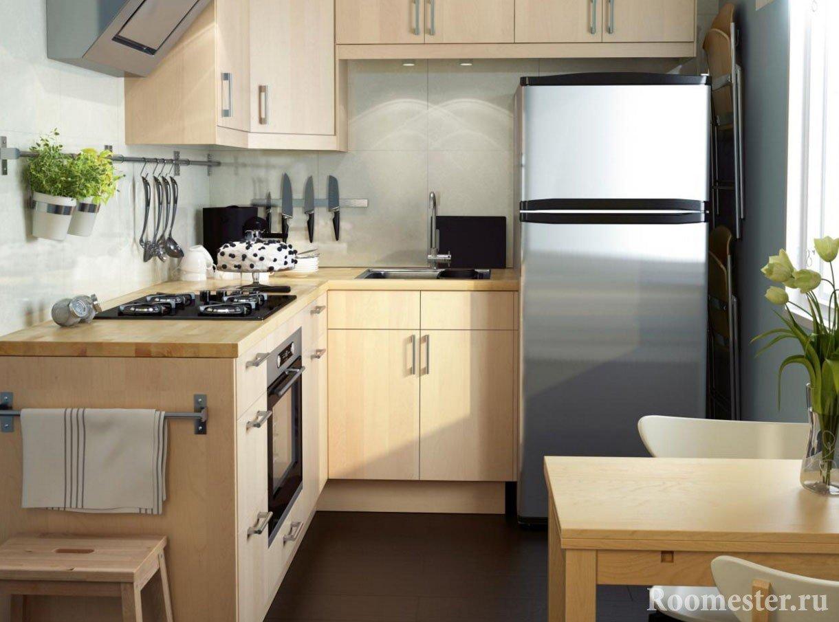 Стильная кухонная мебель