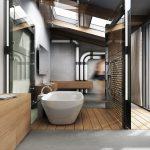 Необычный дизайн ванной