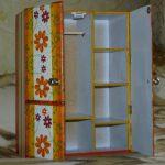 Яркий шкафчик