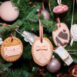 Необычные украшения на елке
