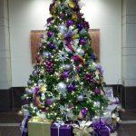 Банты на новогоднем дереве