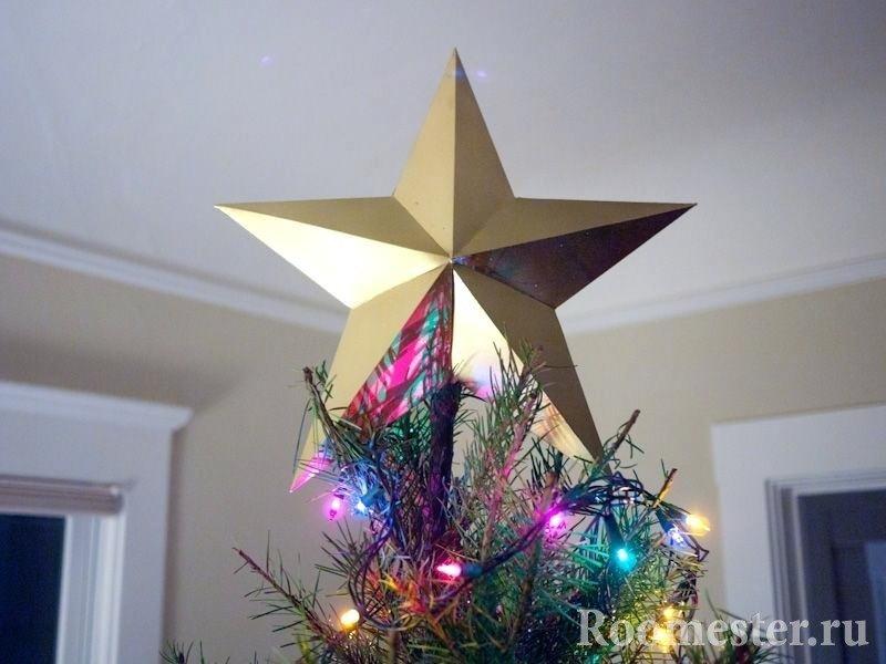Звезда на верхушке