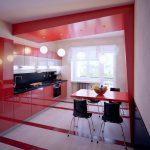 Оригинальный интерьер кухни