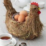 Посуда для яиц в виде курицы
