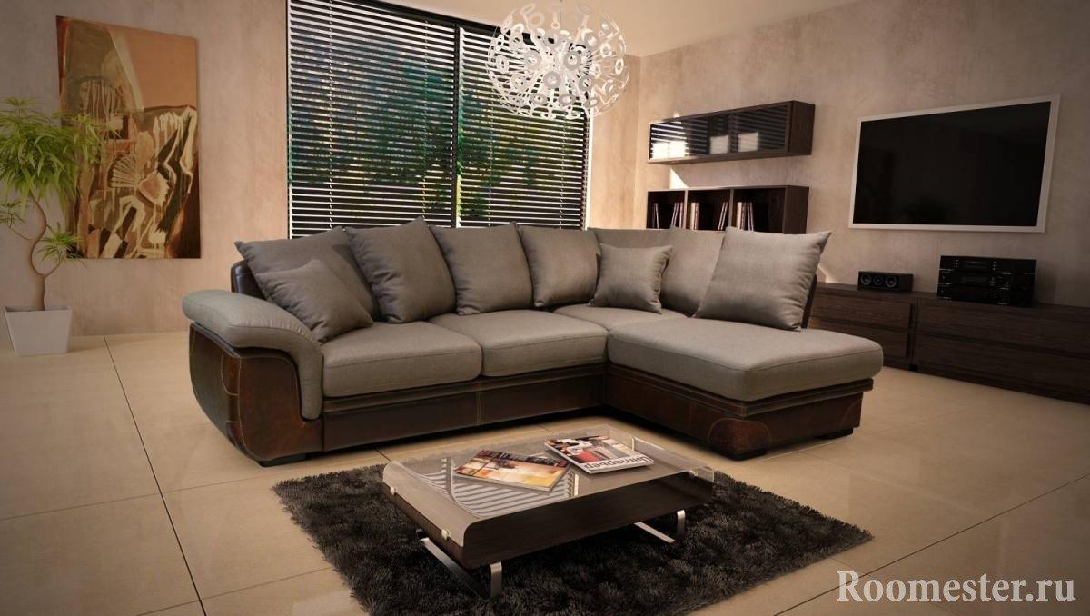 уловой диван в интерьере гостиной 80 фото идей