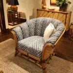 Мягкое кресло из бамбука