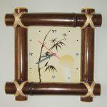 Часы из бамбука