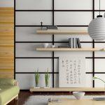 Современный интерьер с бамбуком