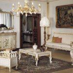 Гостиная с шикарной мебелью