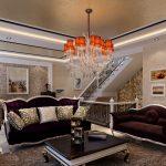 Шикарный интерьер гостиной
