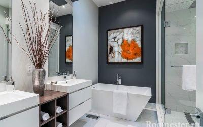Декор ванной комнаты +60 фото идей