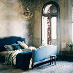 Декоративная штукатурка в спальне