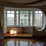 Балкон объединенный с комнатой