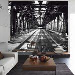 Правильно подобранные фотообои визуально помогут расширить комнату