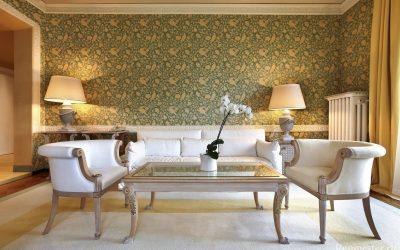 Дизайн обоев для зала: 110 примеров — комбинируем и сочетаем