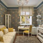 Теплый и уютный стиль прованс в гостиной