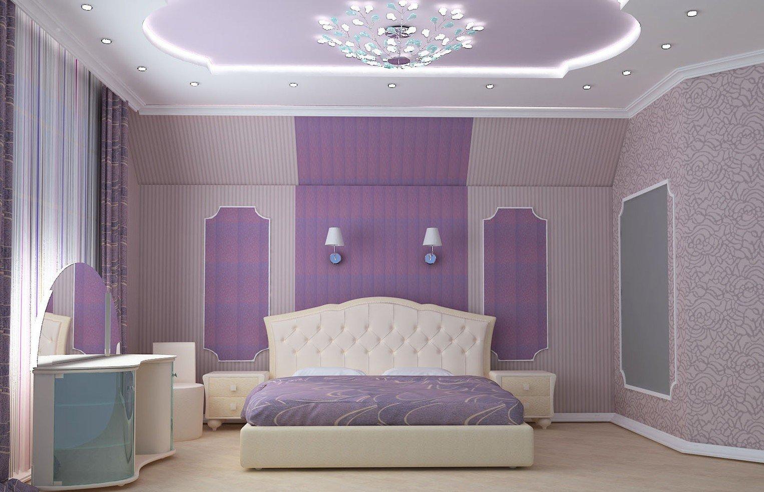 сиреневые обои в спальне дизайн фото вниманию предлагаем рейтинг