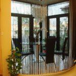 Нитяные шторы в качестве перегородки