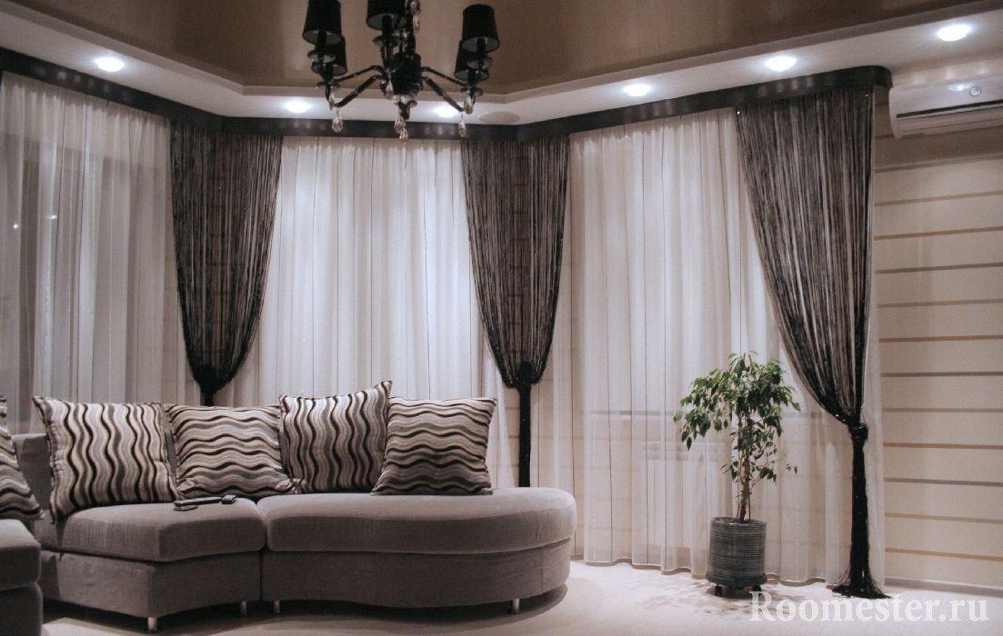 Красивый интерьер гостиной