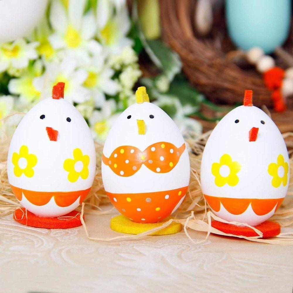 Яйца в виде курочек