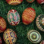 Красивое оформление яиц