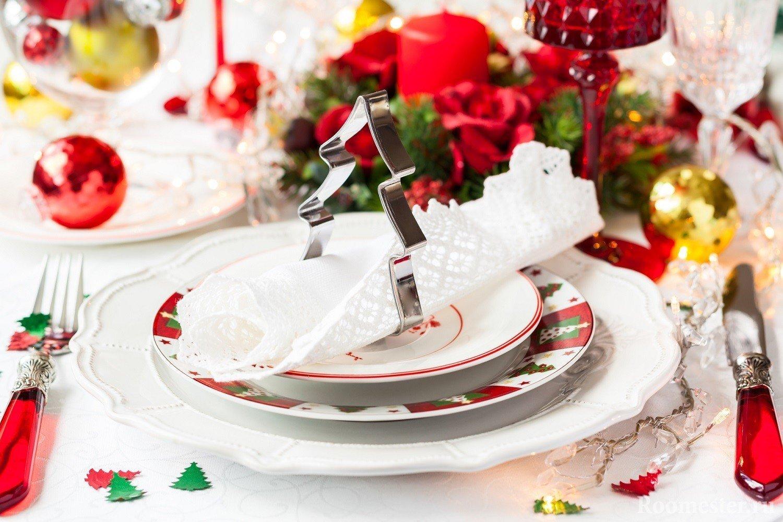 Яркое и праздничное настроение за столом