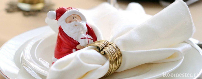Фигурка Деда Мороза для декора