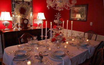 Сервировка новогоднего стола — 55 красивых идей